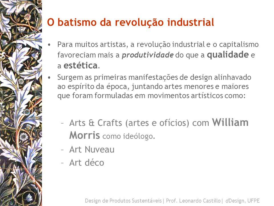Design de Produtos Sustentáveis  Prof. Leonardo Castillo  dDesign, UFPE O american way of life