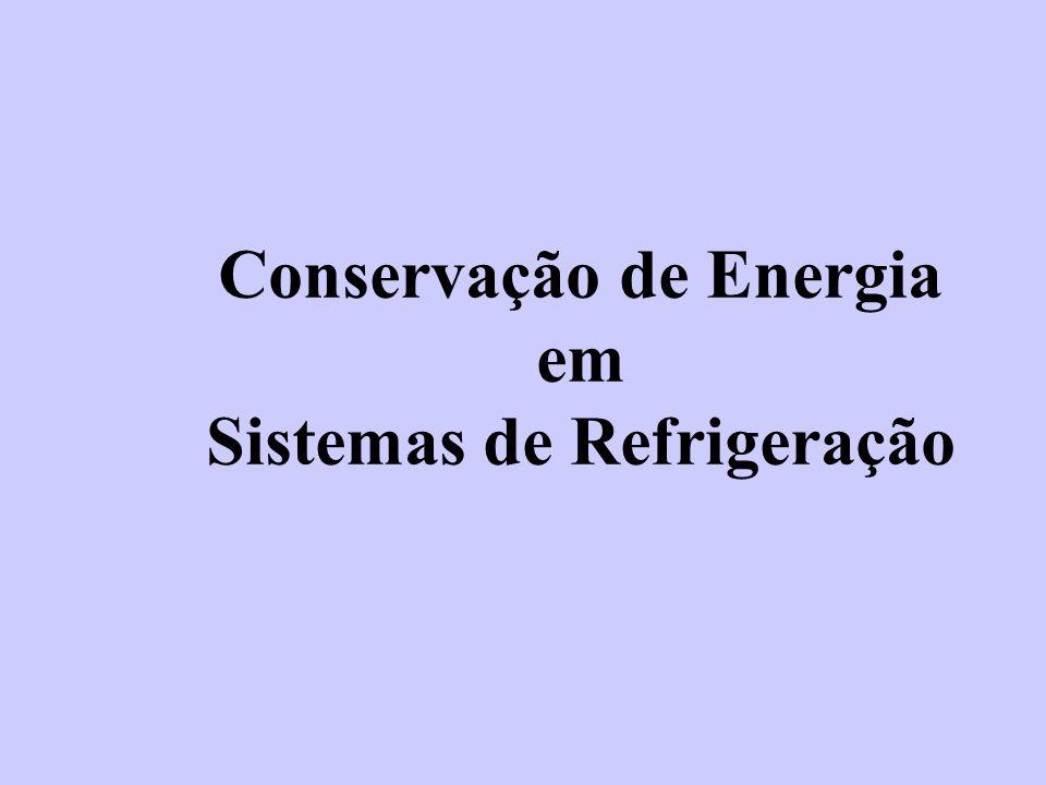 Conservação de Energia em Sistemas de Refrigeração