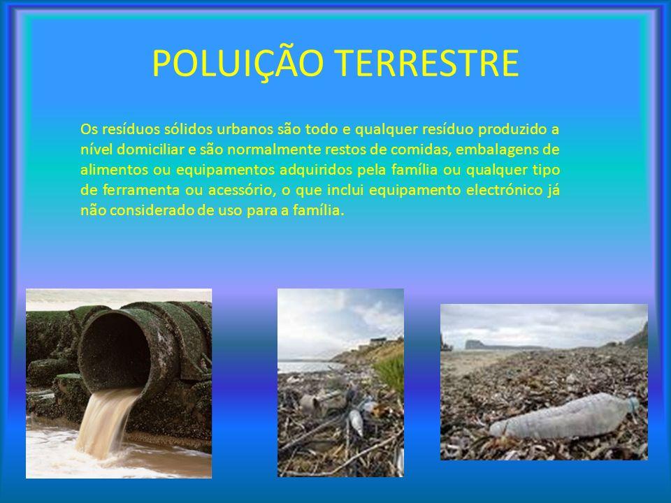 Os resíduos sólidos urbanos são todo e qualquer resíduo produzido a nível domiciliar e são normalmente restos de comidas, embalagens de alimentos ou e