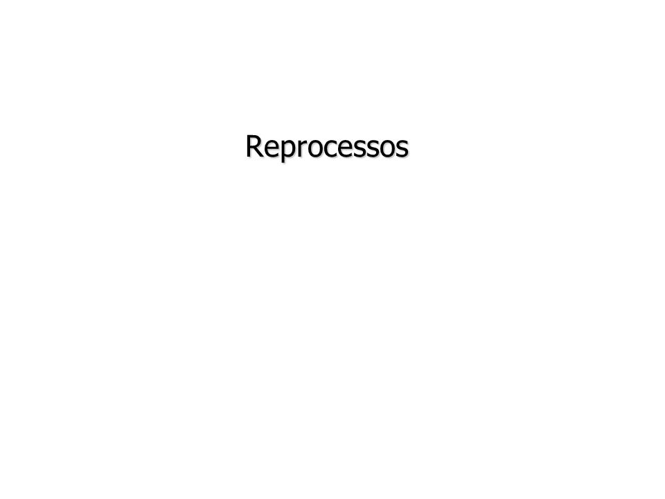 Reprocessos