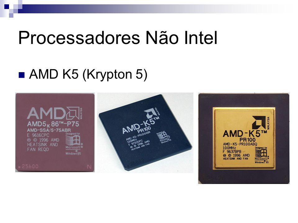 Processadores Não Intel AMD K5 (Krypton 5)