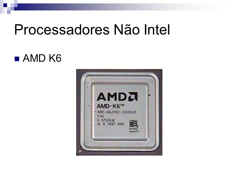 Processadores Não Intel AMD K6