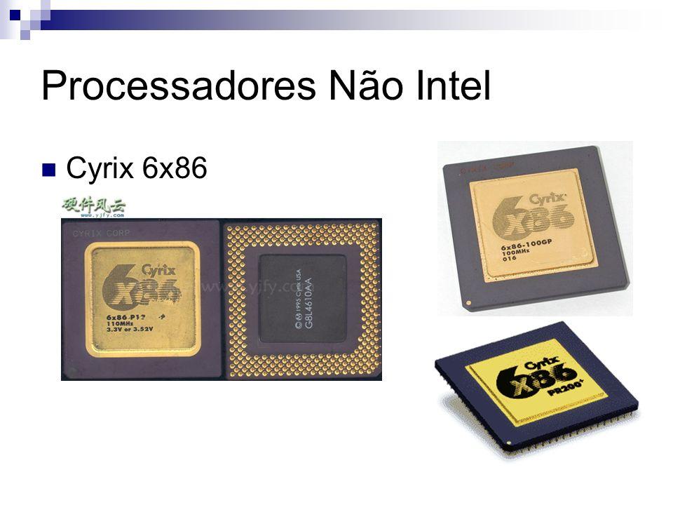 Processadores Não Intel Cyrix 6x86