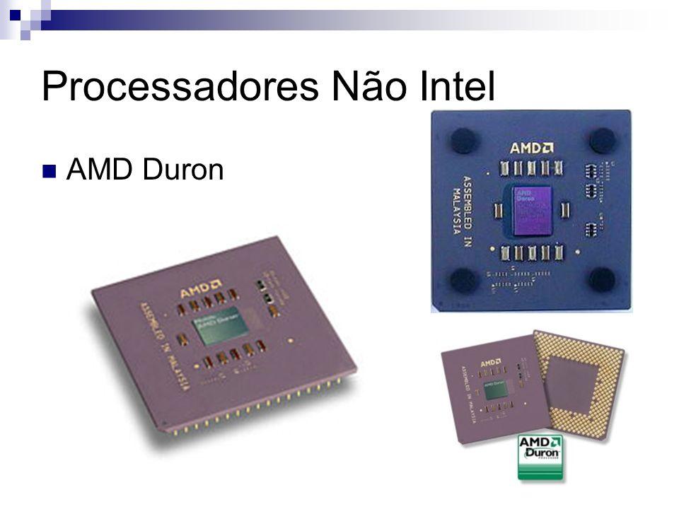 Processadores Não Intel AMD Duron