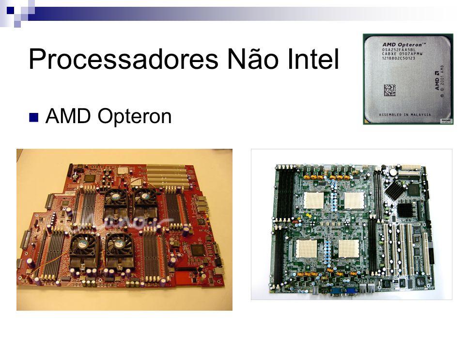 Processadores Não Intel AMD Opteron