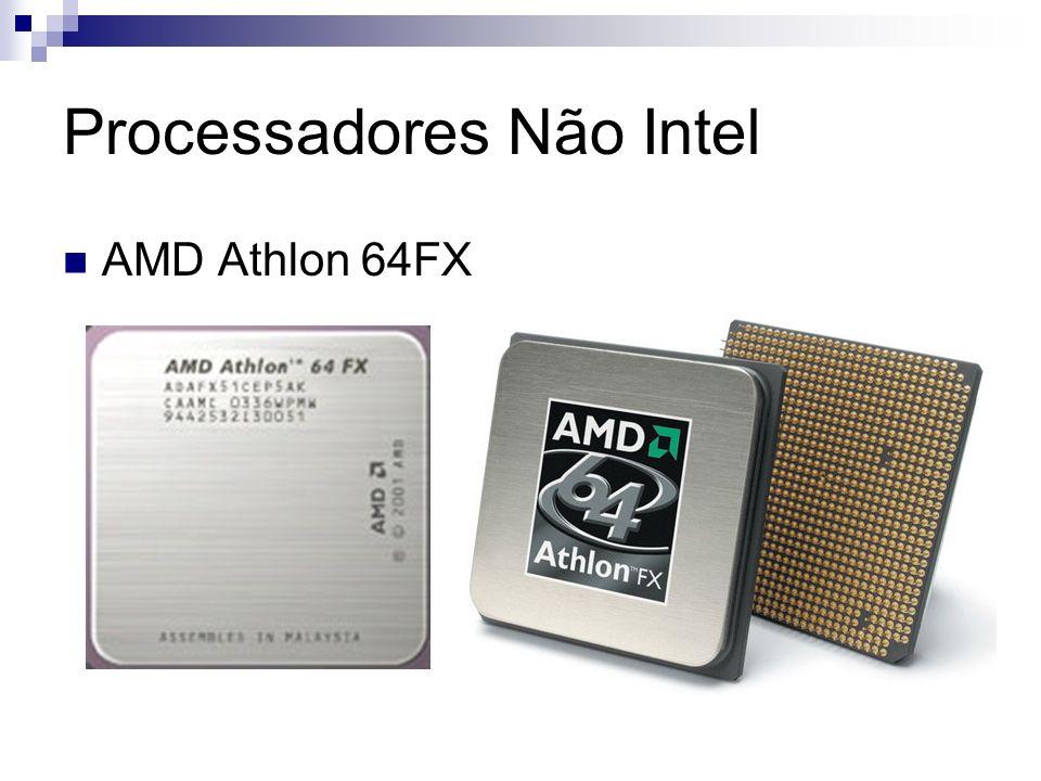 Processadores Não Intel AMD Athlon 64FX