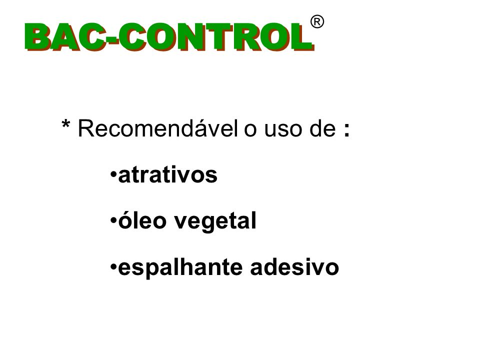 BAC-CONTROL ®