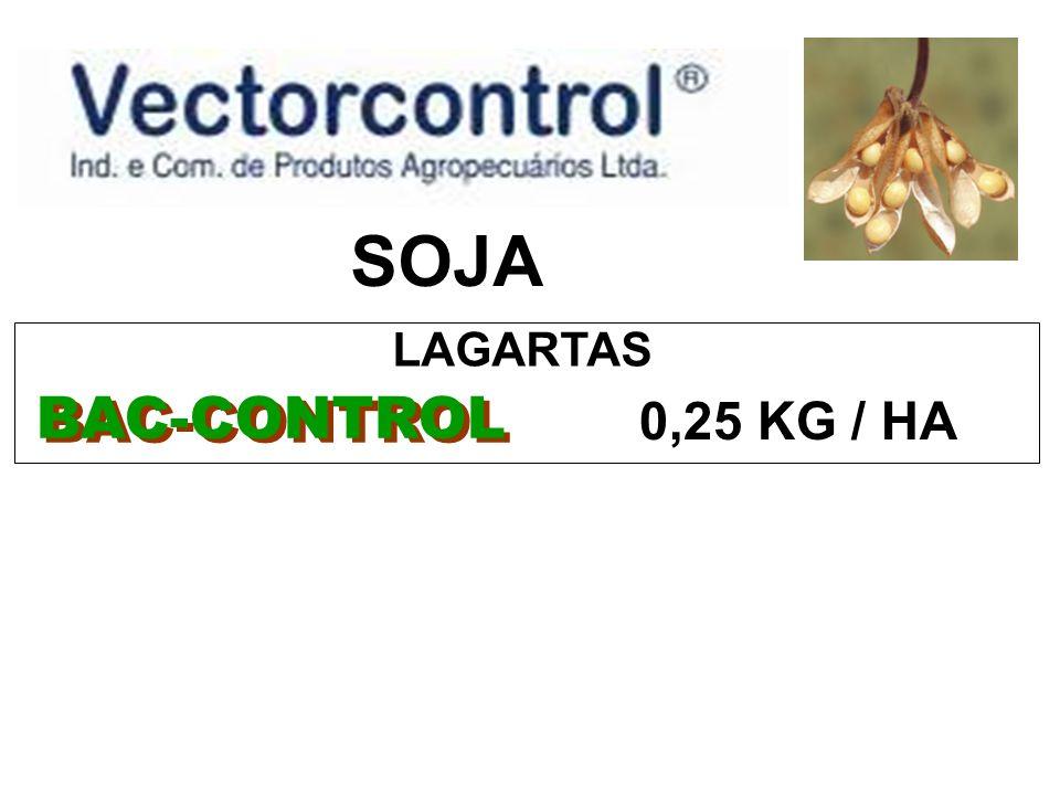 SOJA BAC-CONTROL 0,25 KG / HA LAGARTAS