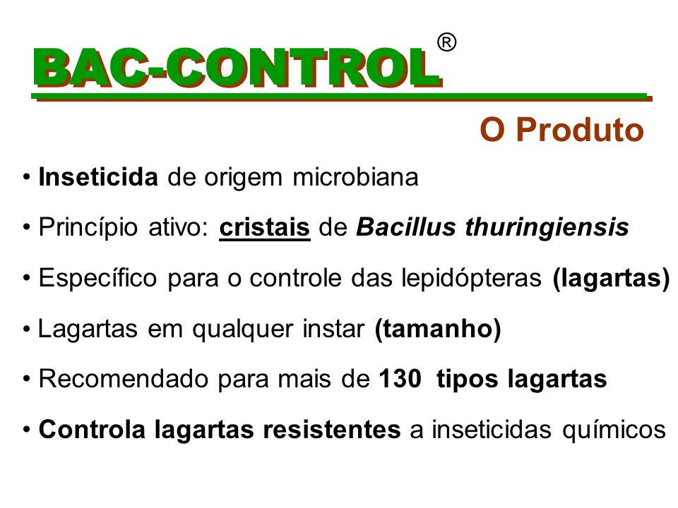 BAC-CONTROL ® Preserva todos os inimigos naturais na cultura tratada EX.
