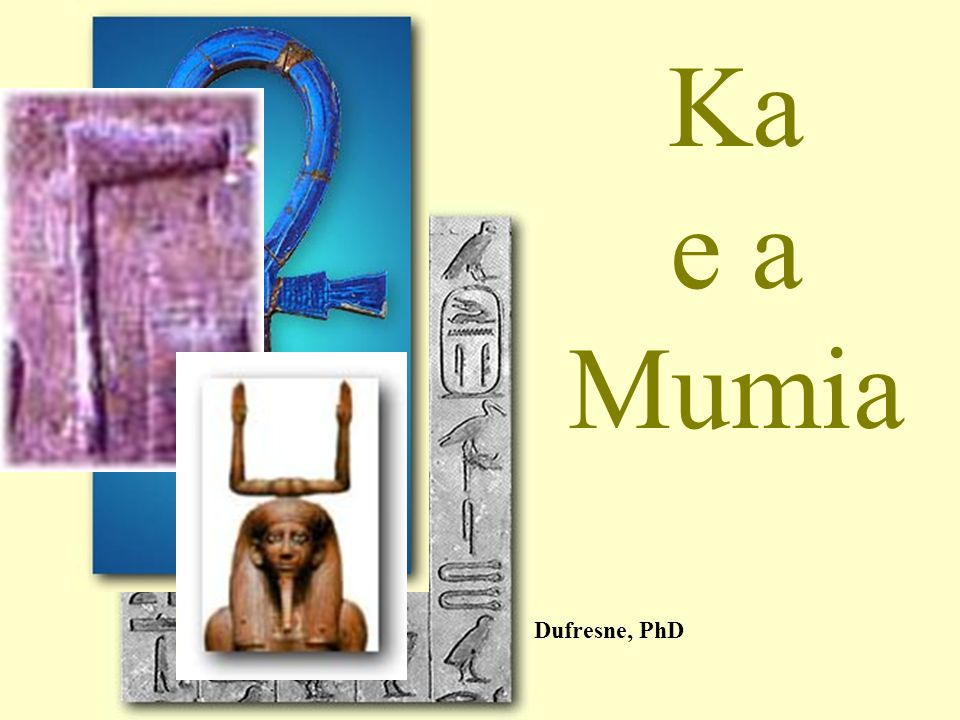 Ka e a Mumia Dufresne, PhD