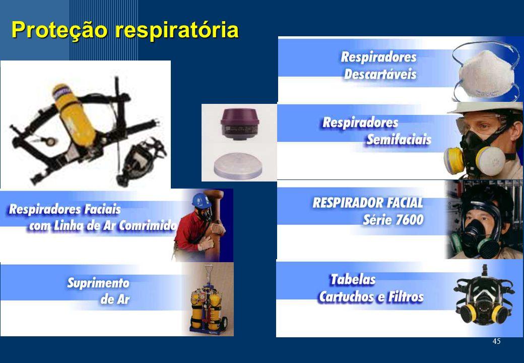 45 Proteção respiratória