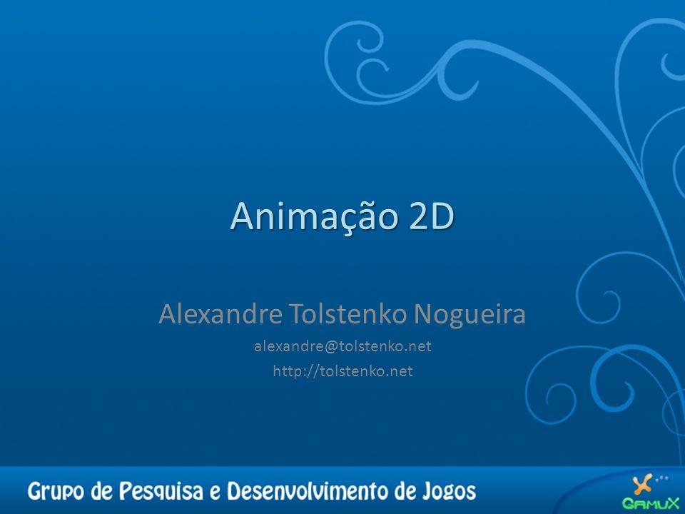 Animação 2D Alexandre Tolstenko Nogueira alexandre@tolstenko.net http://tolstenko.net