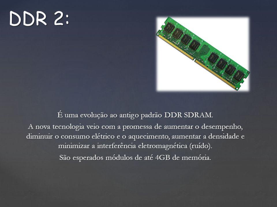 É uma evolução ao antigo padrão DDR SDRAM.