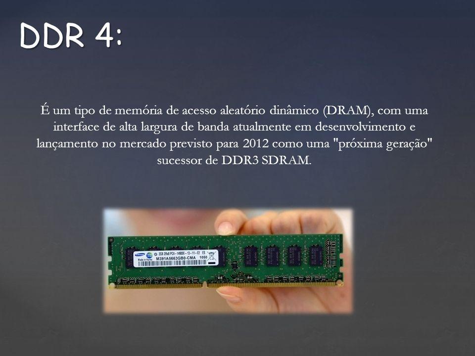 É um tipo de memória de acesso aleatório dinâmico (DRAM), com uma interface de alta largura de banda atualmente em desenvolvimento e lançamento no mercado previsto para 2012 como uma próxima geração sucessor de DDR3 SDRAM.