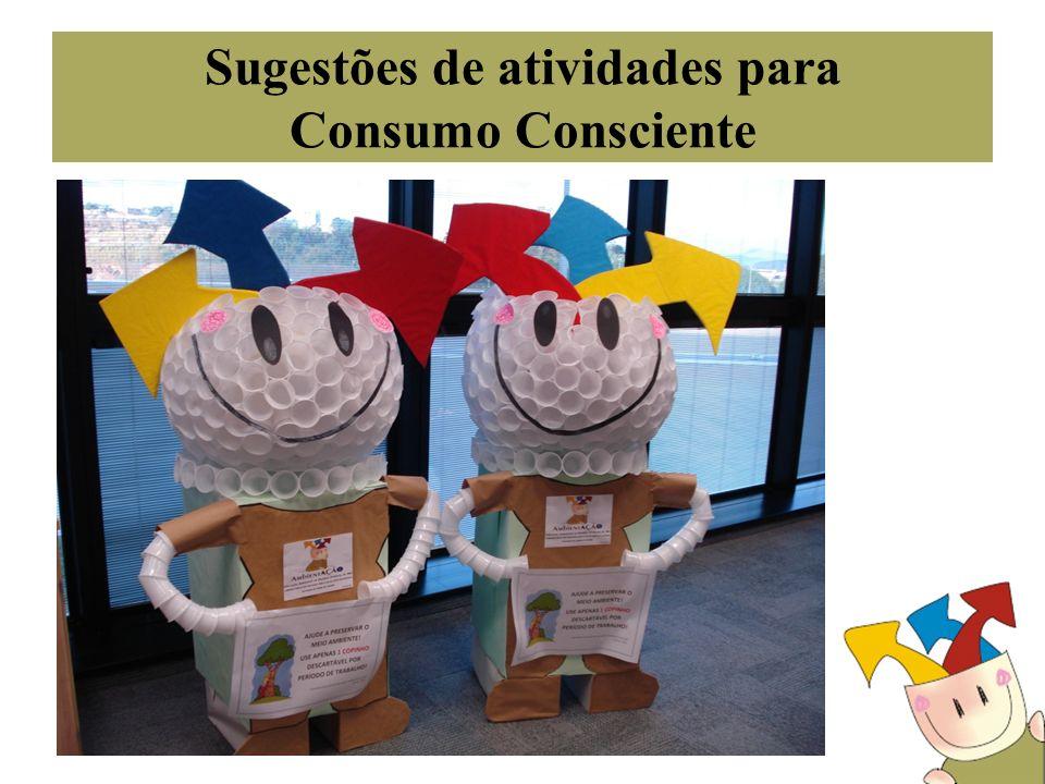 Sugestões de atividades para Consumo Consciente