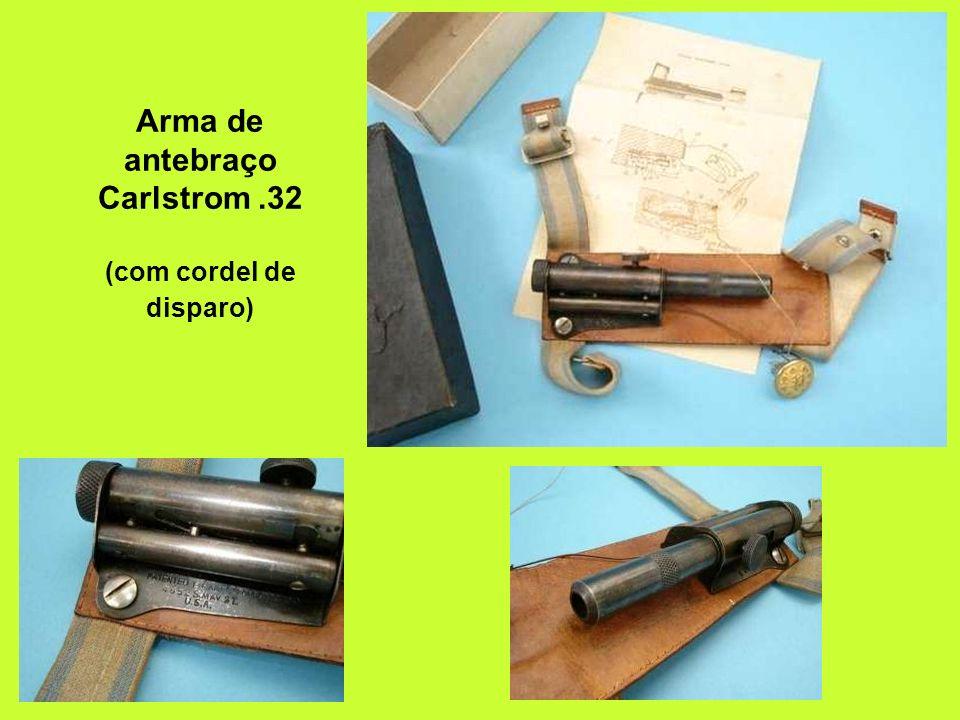Arma de antebraço Carlstrom.32 (com cordel de disparo)
