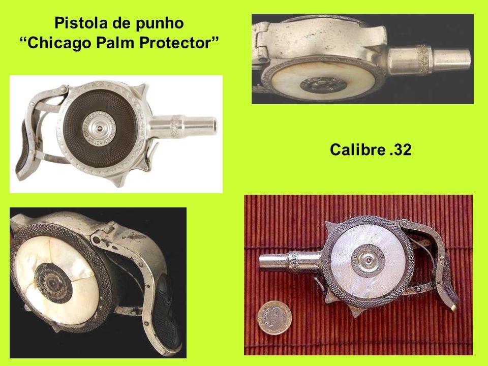 Pistola de punho Chicago Palm Protector Calibre.32