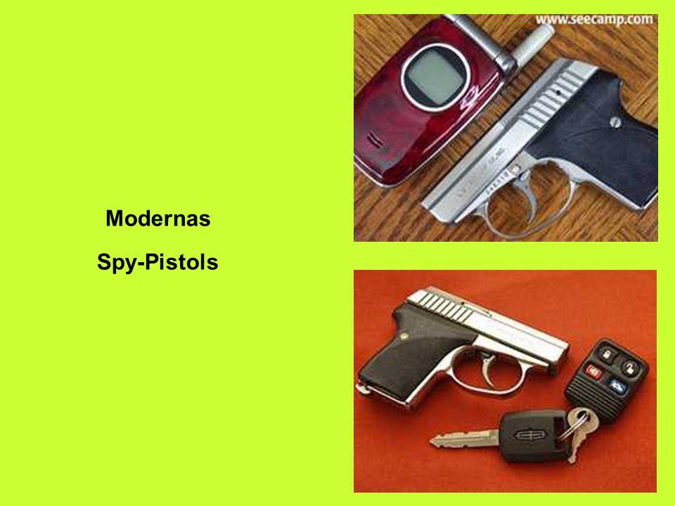 Modernas Spy-Pistols