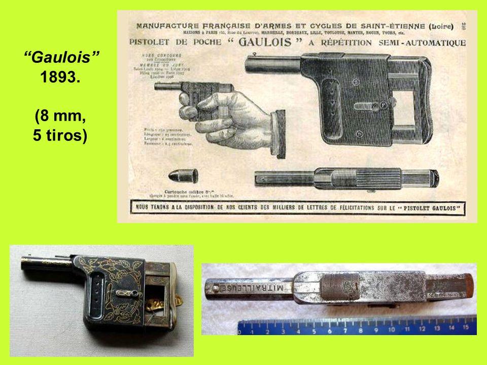 Revólver Lefaucheux bicanhão de 20 tiros.
