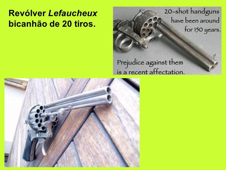 Pepperbox – muito popular nos EUA antes da introdução do revólver.