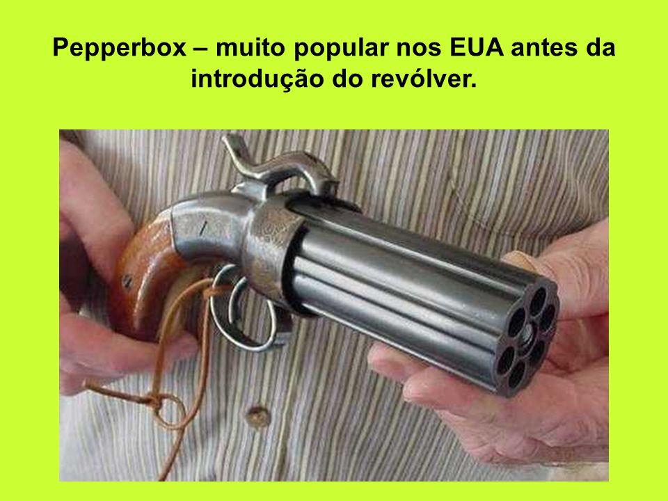Derringer-Uberti – cartuchos Lefaucheux. Itália (calibre.38)