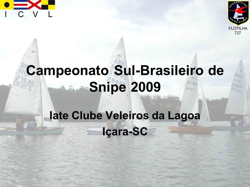 A Classe Snipe O Snipe é um barco de 4,72 metros, para 2 pessoas.