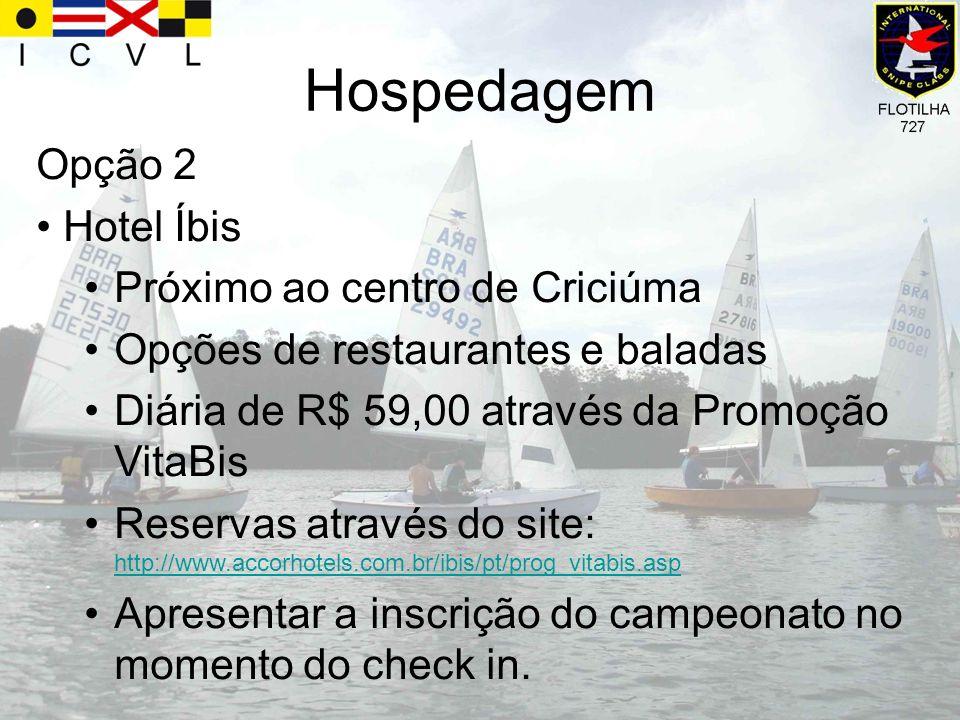 Hospedagem Opção 2 Hotel Íbis Próximo ao centro de Criciúma Opções de restaurantes e baladas Diária de R$ 59,00 através da Promoção VitaBis Reservas a