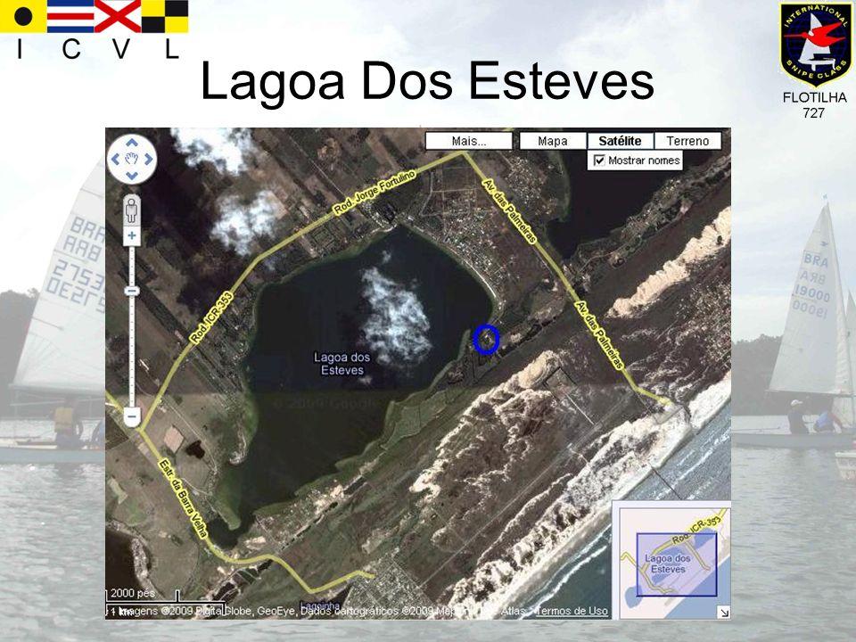 Iate Clube Veleiros da Lagoa O clube está localizado na Lagoa dos Esteves, no município de Içara-SC.