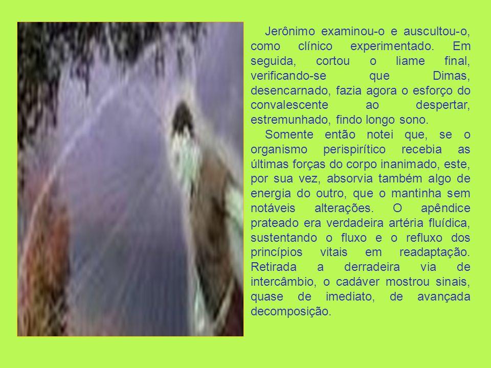 . E pode servir de alimento vital para espíritos humanos inferiores e à imensa variedade de seres habitantes do astral, principalmente os zoologicamente inferiores e os que costumam freqüentar cemitérios.