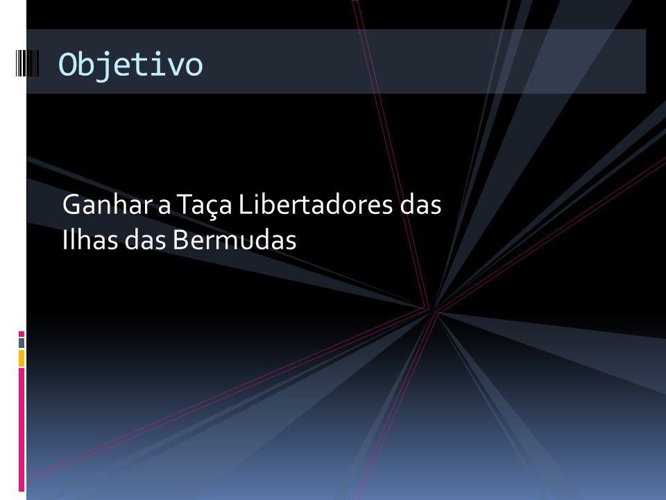 Ganhar a Taça Libertadores das Ilhas das Bermudas Objetivo