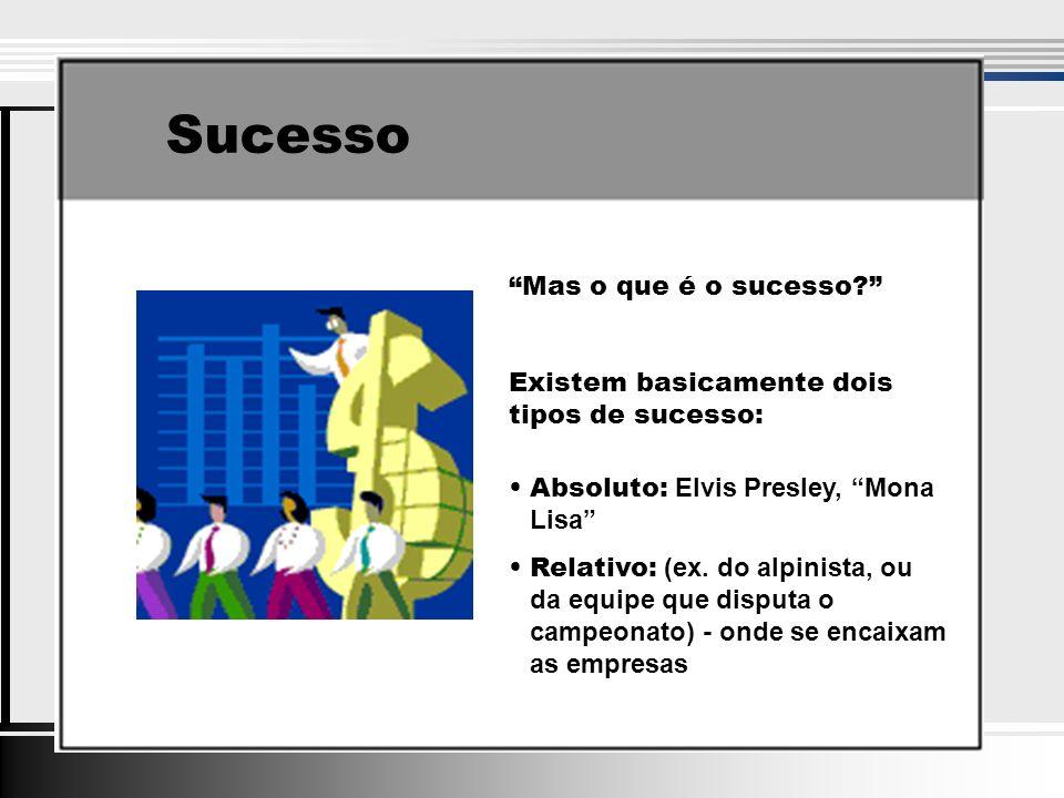 Sucesso Mas o que é o sucesso.