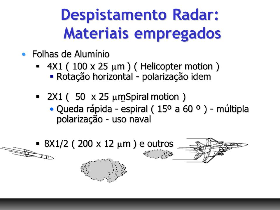 Folhas de AlumínioFolhas de Alumínio 4X1 ( 100 x 25 m ) ( Helicopter motion ) 4X1 ( 100 x 25 m ) ( Helicopter motion ) Rotação horizontal - polarizaçã