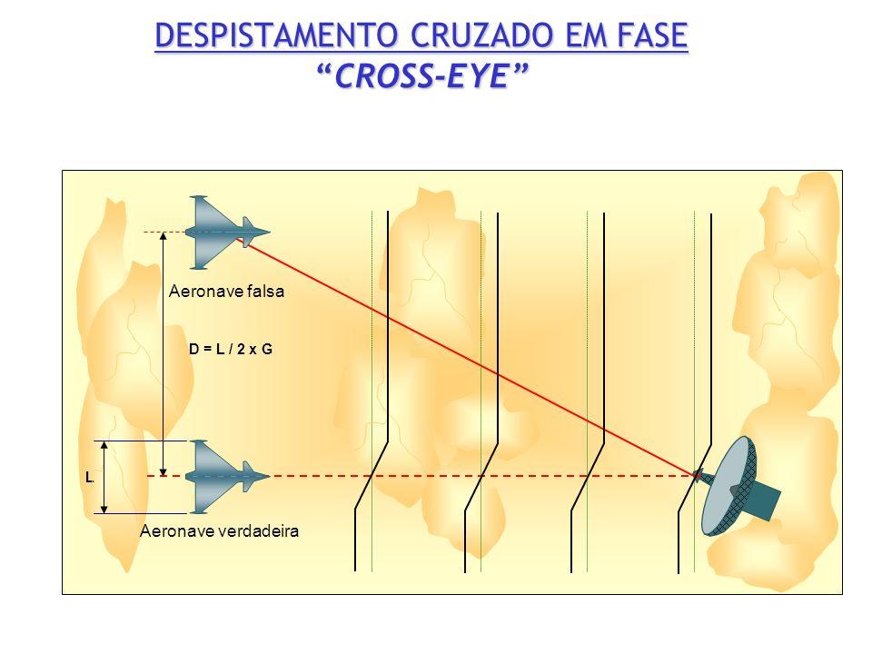 L D = L / 2 x G Aeronave verdadeira Aeronave falsa