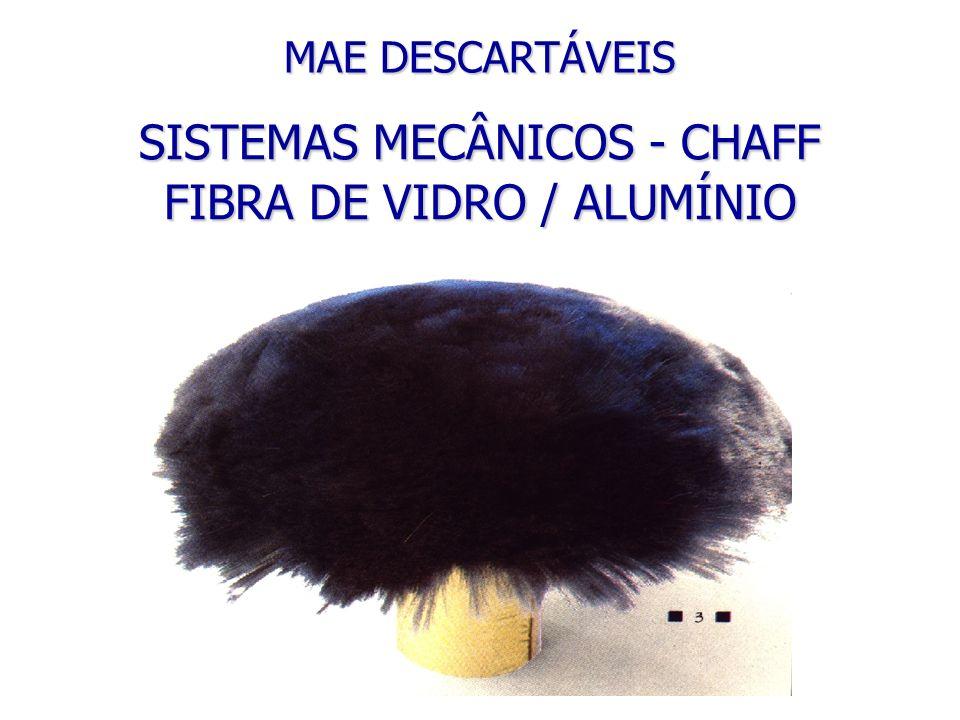 FIBRA DE VIDRO / ALUMÍNIO MAE DESCARTÁVEIS SISTEMAS MECÂNICOS - CHAFF