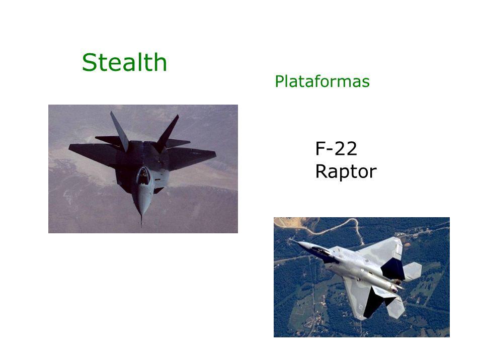 Stealth F-22 Raptor Plataformas