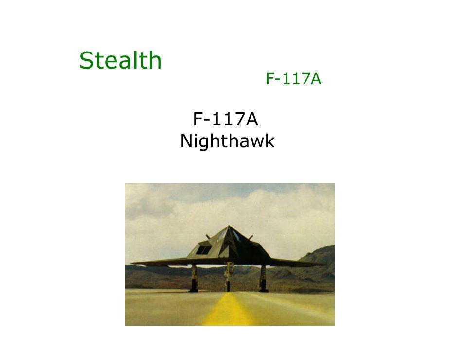 Stealth F-117A Nighthawk
