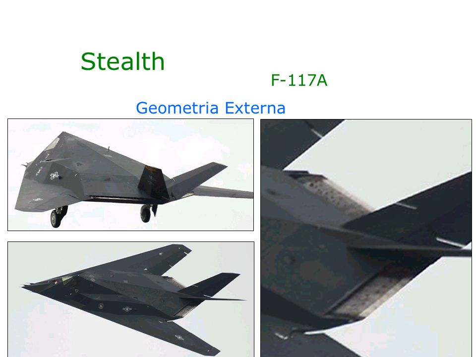 Stealth Geometria Externa F-117A