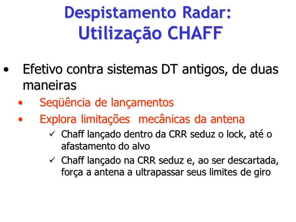 Efetivo contra sistemas DT antigos, de duas maneirasEfetivo contra sistemas DT antigos, de duas maneiras Seqüência de lançamentosSeqüência de lançamen