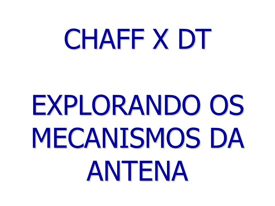 CHAFF X DT EXPLORANDO OS MECANISMOS DA ANTENA