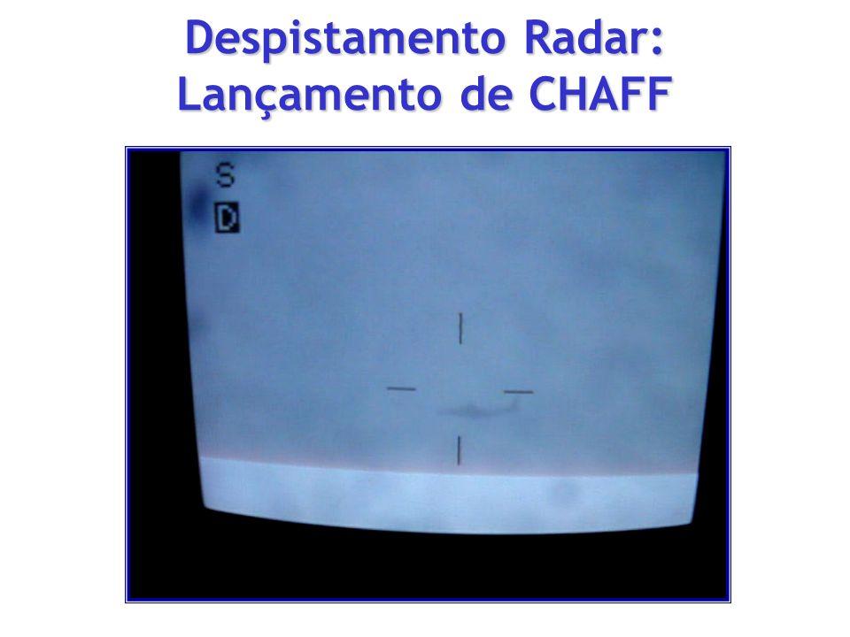 Despistamento Radar: Lançamento de CHAFF