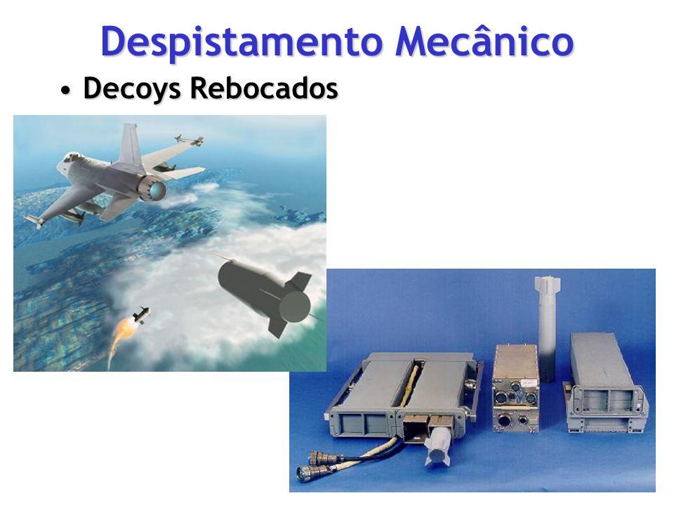 Despistamento Mecânico Decoys RebocadosDecoys Rebocados