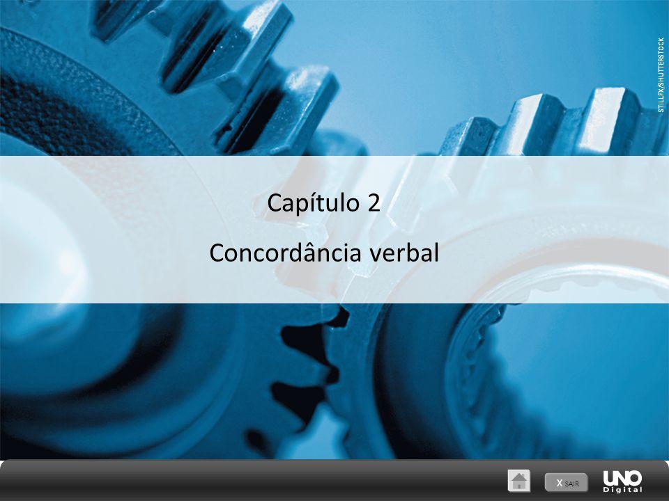 STILLFX/SHUTTERSTOCK X SAIR Capítulo 2 Concordância verbal STILLFX/SHUTTERSTOCK
