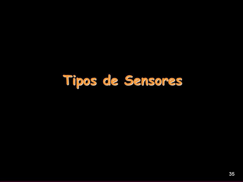 35 Tipos de Sensores