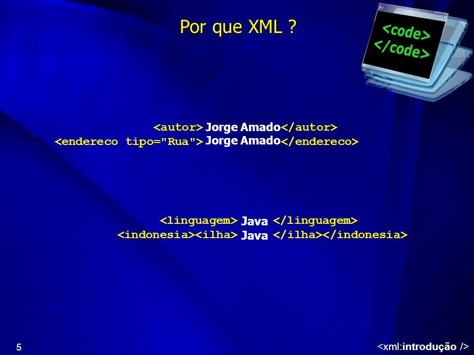5 Jorge Amado Java Por que XML ?