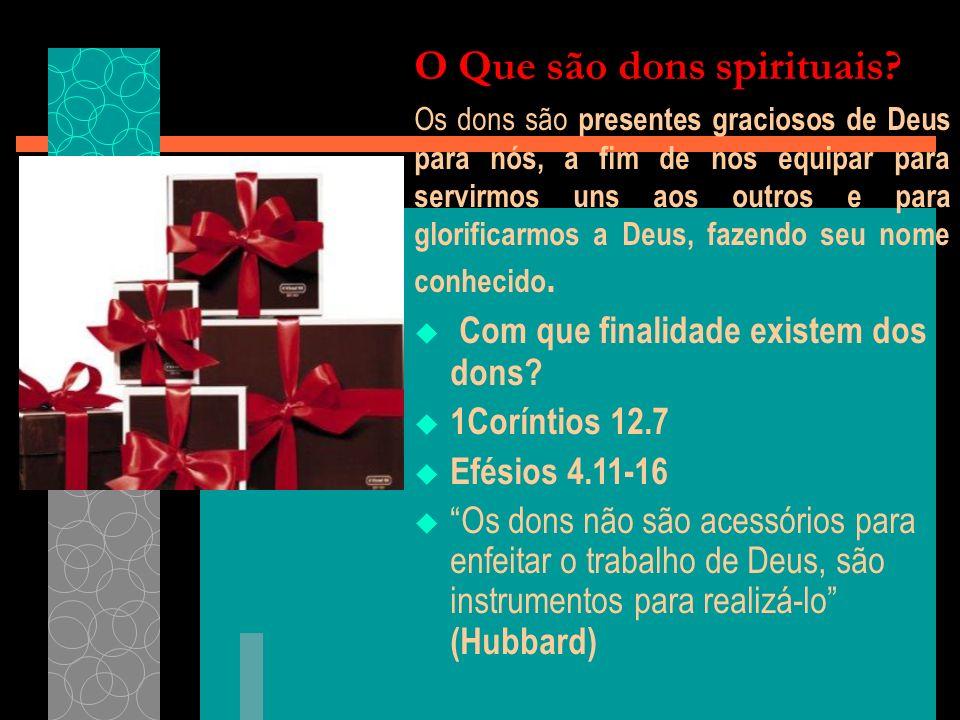O Que são dons spirituais.