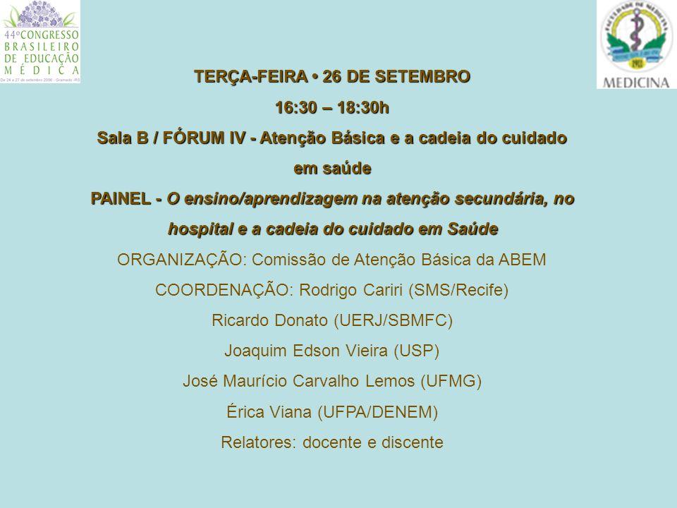 ** * * * * Belo Horizonte – MG Regionais de Saúde (*) Centros de Saúde em que a FMUFMG atua.