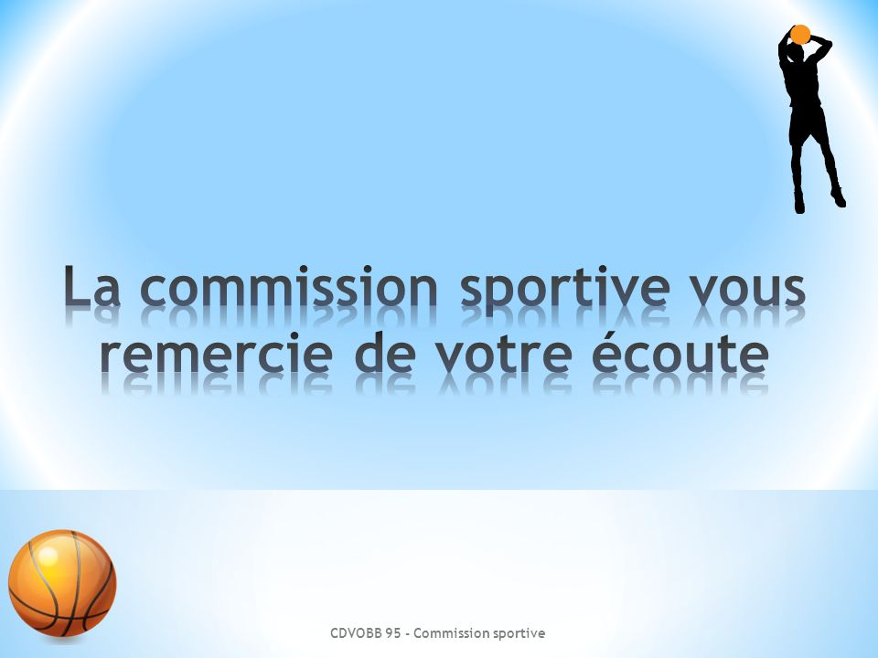CDVOBB 95 - Commission sportive