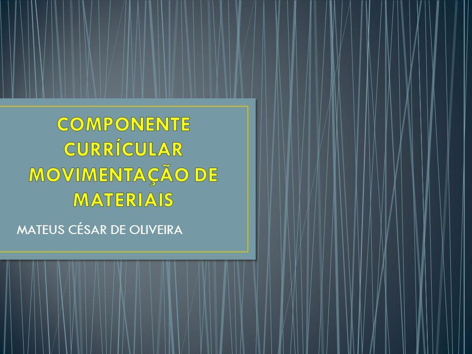 CONCEITO DO SISTEMA DE MOVIMENTAÇÃO DE MATERIAIS ATIVIDADES DE MOVIMENTAÇÃO DE MATERIAIS NO CICLO LOGISTICO EMBALAGEM E ACONDICIONAMENTO DOS MATERIAIS mateus.cs.oliveira@hotmail.com2