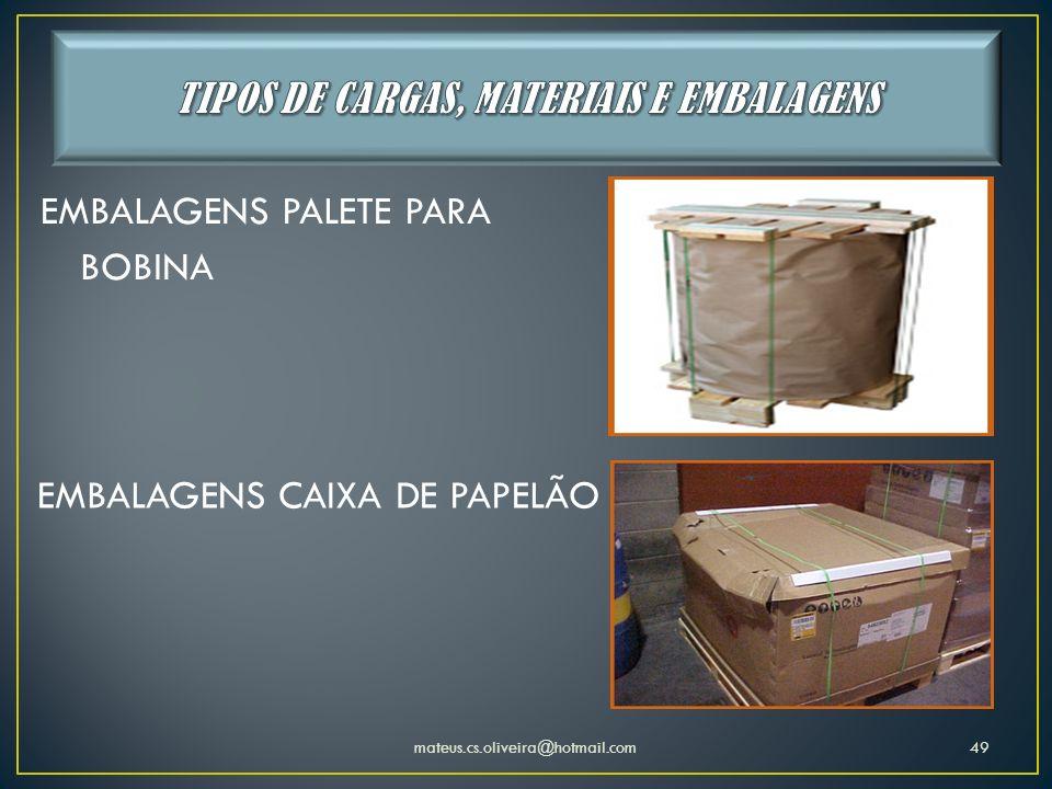 mateus.cs.oliveira@hotmail.com49 EMBALAGENS PALETE PARA BOBINA EMBALAGENS CAIXA DE PAPELÃO