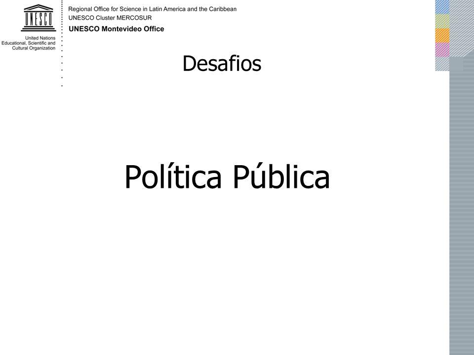 Política Pública Desafios
